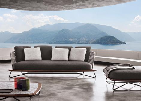 Outdoor коллекция мебели Rivera от фабрики Minotti   галерея [1] фото [2]