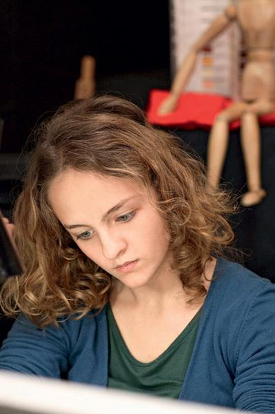 Девушке-вундеркинду Сандре прочат славу Леонардо да Винчи.