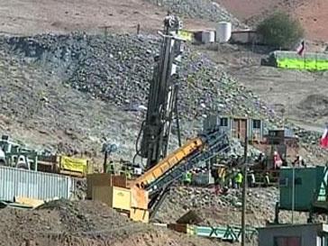 Чили, шахтеры, спасатели