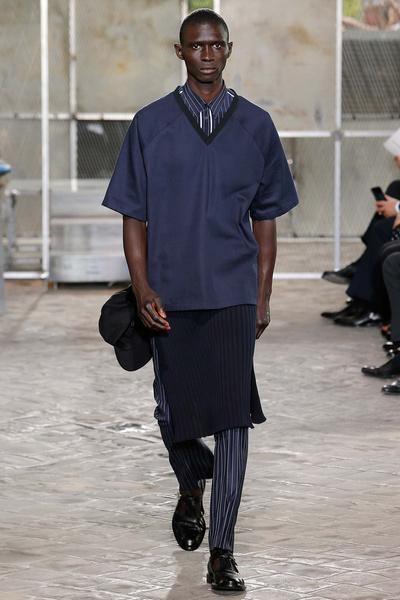 Неделя мужской моды в Париже: лучшие показы | галерея [4] фото [21]
