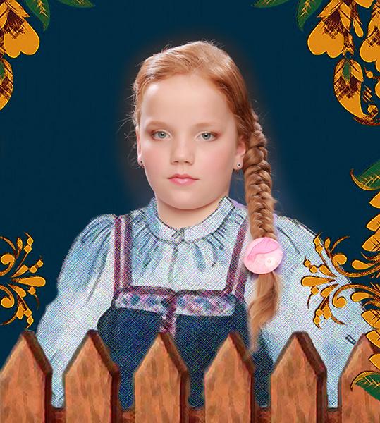 Анна Никифорова, «Уральская краса – русская коса», фото