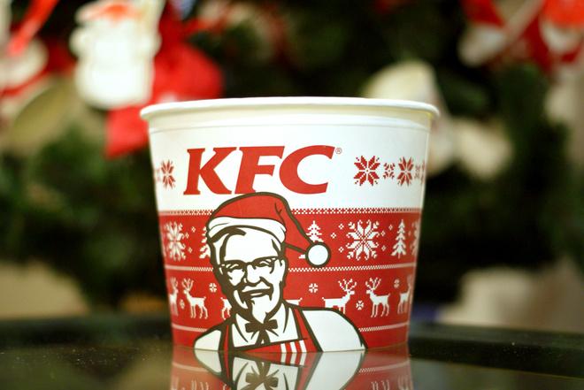 KFC создает атмосферу праздника