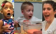 Трогательное видео: глухие люди впервые слышат
