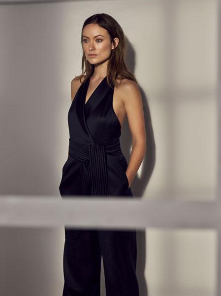 Оливия Уайлд на фотосессии для H&M