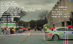 видят глаза автомобилей tesla время движения