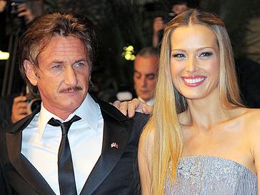 Шон Пенн (Sean Penn) и Петра Немкова (Petra Nemcova)