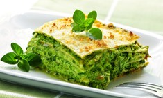 Легкая овощная лазанья: вегетарианский рецепт