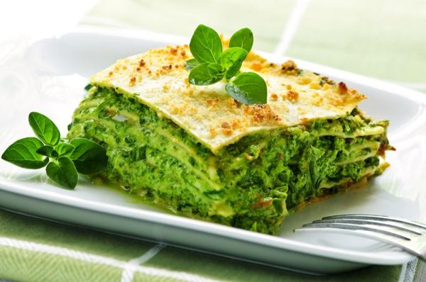 Рецепт овощной лазаньи