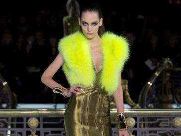 Кутюрная коллекция Atelier Versace весна-лето 2013 на Неделе высокой моды в Париже