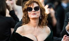 Декольте, разрезы и кружево: все сексуальные платья в Каннах