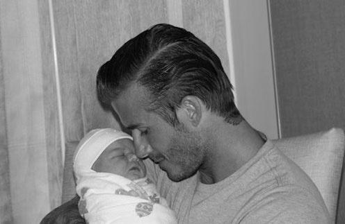Дэвид Бекхем (David Beckham) с дочкой Харпер Севен (Harper Seven)