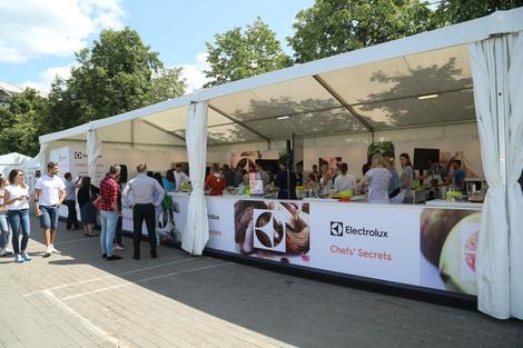 Гастрономический фестиваль Taste of Moscow прошел при поддержке компании Electrolux | галерея [1] фото [3]