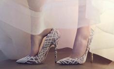 Jimmy Choo выпустил коллекцию свадебной обуви