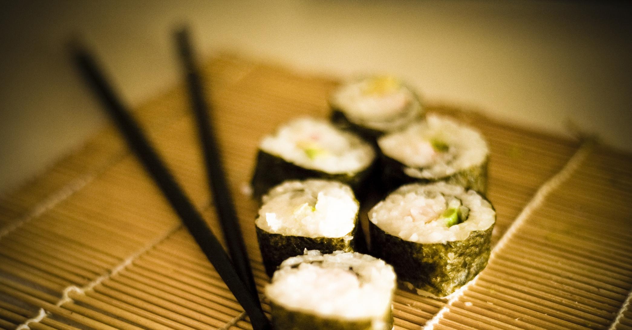 Суши с рыбой рецепт с рыбой
