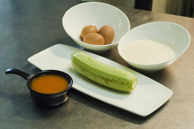 Кабачки с тыквенным соусом рецепт