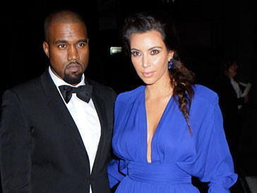 Ким Кардашьян (Kim Kardashian) и Канье Уэст (Kanye West)