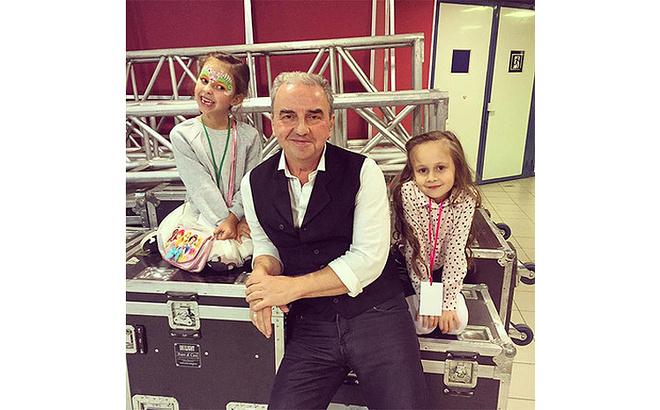 Владимир Шахрин, внучки, семья, фото