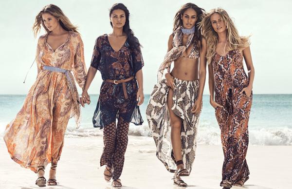 Рекламная кампания H&M лето-2015