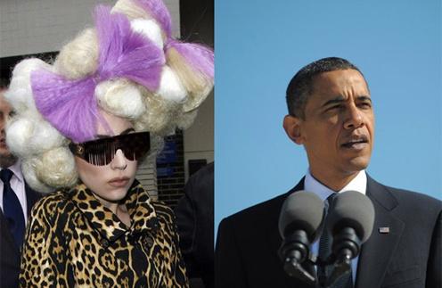 Барак Обама не уделил Леди ГаГа достаточно внимания на встрече своих сторонников.