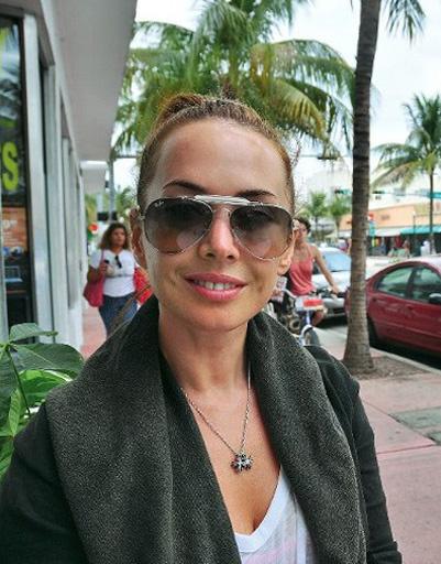 Жанна Фриске довольна климатом в Майами