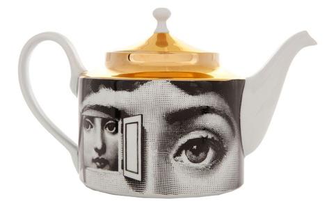 Фарфоровый чайник, Fornasetti, салоны Lege Alto
