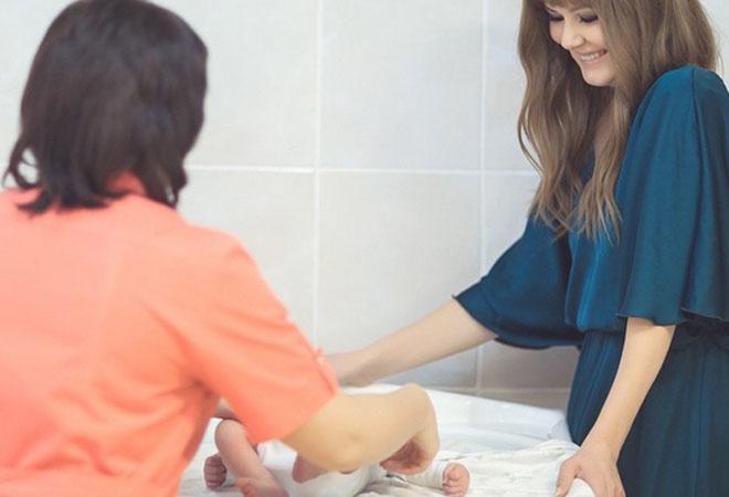 Мария Кожевникова с ребенком, фото