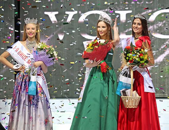Мария Зверева Мисс Волга 2015