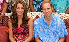 Кейт Миддлтон и принц Уильям устроили себе роскошный отпуск