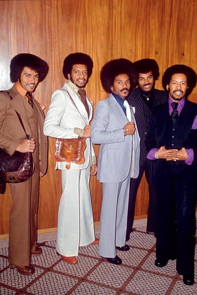 Группа The Chi-Lites, 1976.