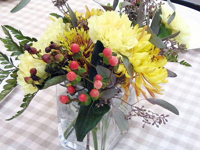 Объединяйте осенние цветы с внесезонными