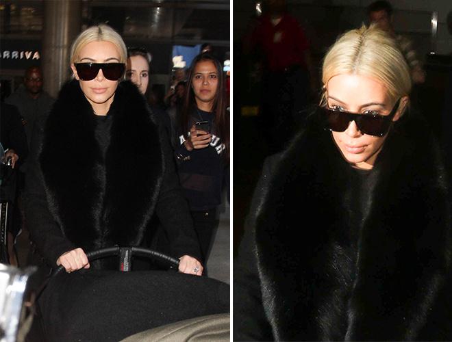 Ким Карадашьян блондинка: фото