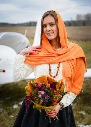 "Елена Пермякова для конкурса ""Королева осени"", фото"