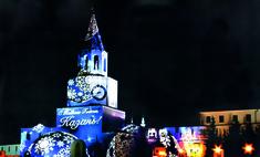 К Новому году белый Казанский кремль станет цветным