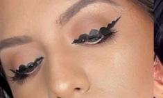Кружевные стрелки: новый тренд в макияже
