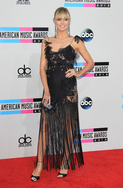 Хайди Клум на AMA-2013