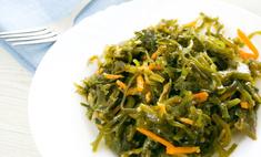 Учитесь готовить корейские закуски: морская капуста