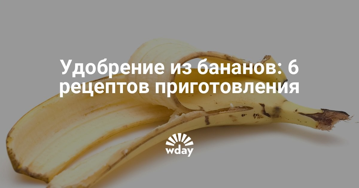Банан как удобрение для рассады 54