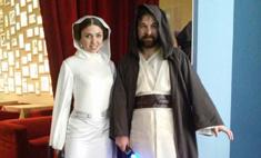 Новосибирцы встретили «Звездные войны» джедайскими мечами