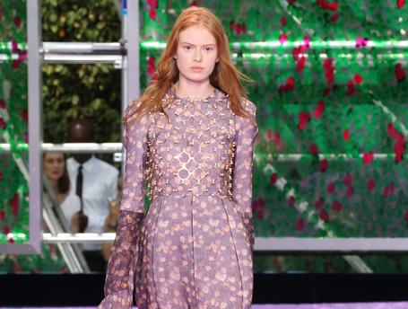 Яркими мазками: показ Christian Dior Couture