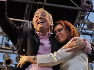 Нестор Киршнер (Néstor Kirchner) и Кристина Фернандес де Киршнер (Cristina Fernández de Kirchner)