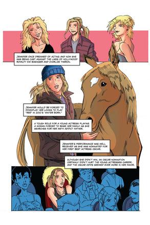 Дженнифер Лоуренс – звезда комиксов
