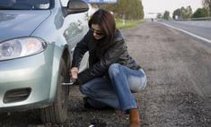 Пять советов женщине, как поменять колесо на автомобиле