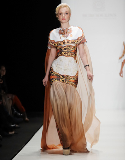 Mercedes-Benz Fashion Week: Borodulin's, весна-2012