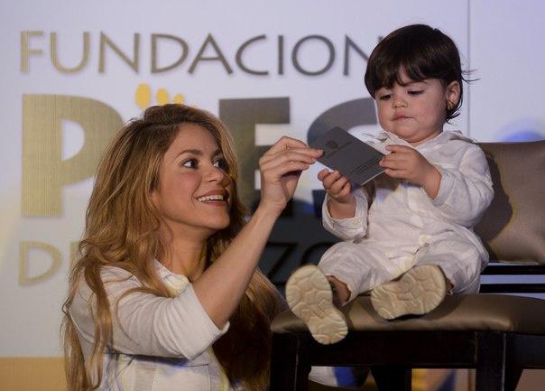 Шакира помогла российским детям