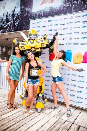 SUNDAY Ростов пляж Каррера 2015, вечеринка Алекс Фитнес