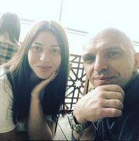 Александр Шоуа с женой Натальей