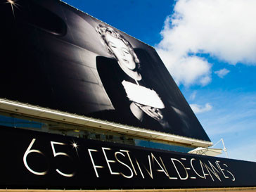 Мэрилин Монро (Marylin Monroe) стала символом 65-го Каннского кинофестиваля