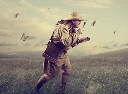 Охотник за бабочками