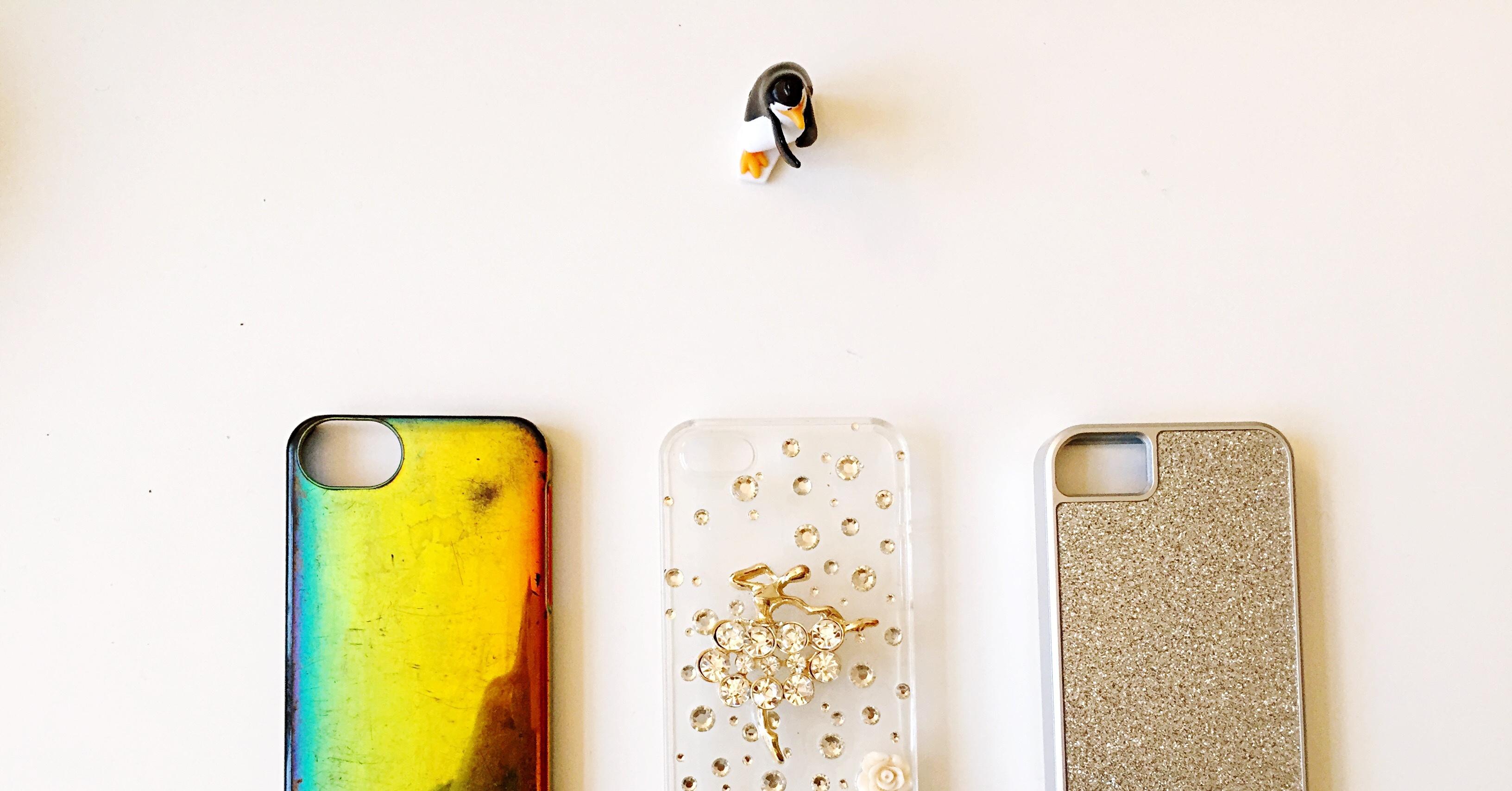 10 способов украсить чехол для телефона 35
