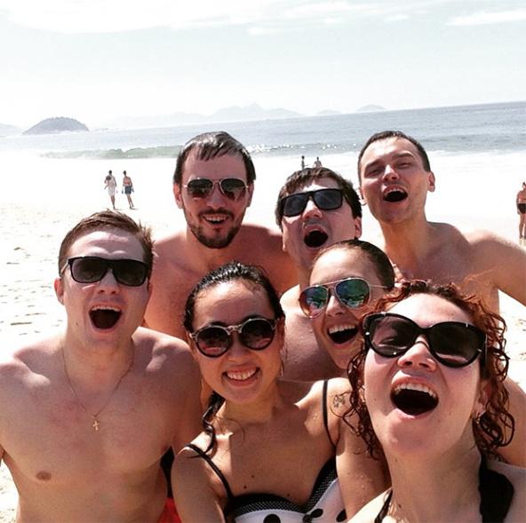 Команда КВН Союз 2014 Высшая лига поездка в Рио
